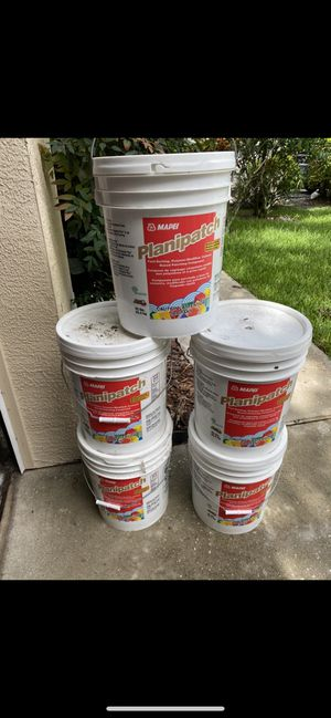 5 gallon Planipatch brand new! for Sale in Tampa, FL