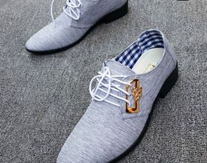 Men trendy laced-up leather business shoes for Sale in Detroit, MI