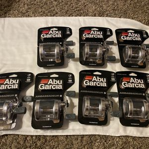 New Abu Garcia Ambassadeur 5500-6500S Reels for Sale in Webster, TX