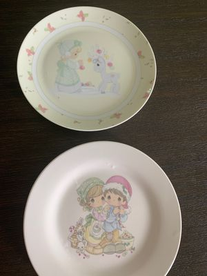 Precious moments plates for Sale in West Valley City, UT