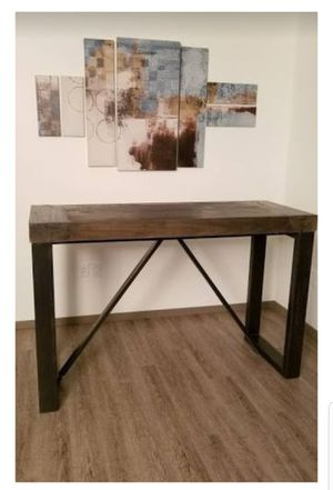 Bar Height Solid Wood Table for Sale in Portland, OR