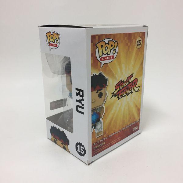 Funko pop 8 bit street fighter game stop exclusive ryu vinyl figure