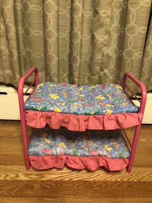 Bunk bed for American Girl Dolls for Sale in Chicago, IL