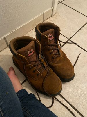 Men's work boots $50 or best offer used once! Size 12 for Sale in Fort Myers, FL