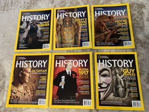 2017 HISTORY National Geographic Complete (6) for Sale in Fresno, CA