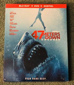 47 METERS DOWN UNCAGED BLU-RAY SEALED for Sale in La Grange Highlands, IL