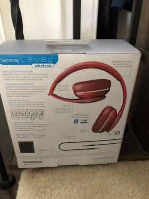 Samsung wireless noise canceling headphones for Sale in Little Elm, TX