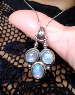 Vintage triple moonstone pendant for Sale in Downey, CA