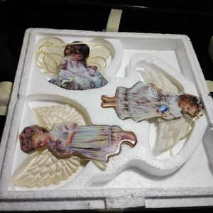 Authentic Angels Christmas Ornaments With Certificate for Sale in Eagle Lake, FL