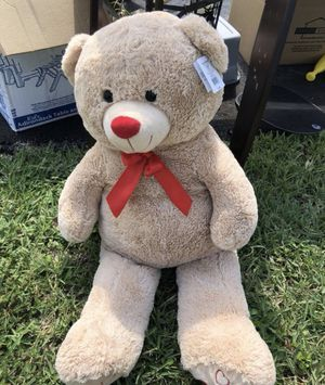 4 foot teddy bear stuffed animal photo prop kids toy for Sale in Coral Springs, FL