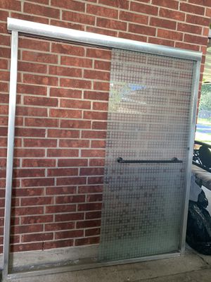 Shower door 581/2. X 71 for Sale in Houston, TX