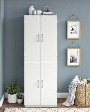 💥Mainstays 4 Door Storage Cabinet ♥️ for Sale in Houston, TX