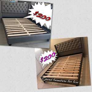 Queen size bed frame brand new in boxes/ take your choice for Sale in Phoenix, AZ