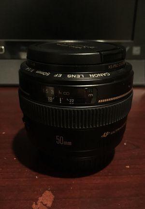Canon 50mm 1.4 for Sale in Alpharetta, GA