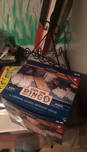 State Fair Bingo Board Game for Sale in Beaverton, OR