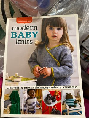 Modern baby knits book for Sale in Lawndale, CA
