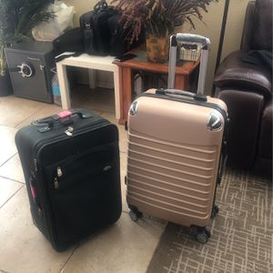 2 Luggages! The Other One Is Brandnew for Sale in Jurupa Valley, CA