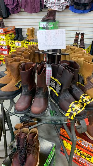 Work boots/Botas de trabajo for Sale in Haines City, FL