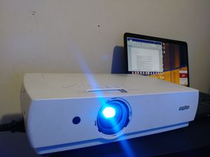 Urgent! Projector to enjoy movie and game in big screen. Slide the picture to proof. for Sale in Mount Rainier, MD
