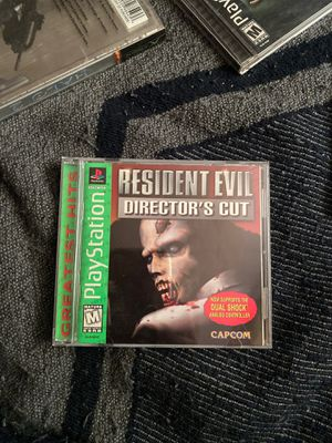 Resident evil Ps1 10/10 condition for Sale in Fresno, CA