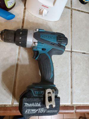 Makita XPH03 hammer drill for Sale in El Paso, TX