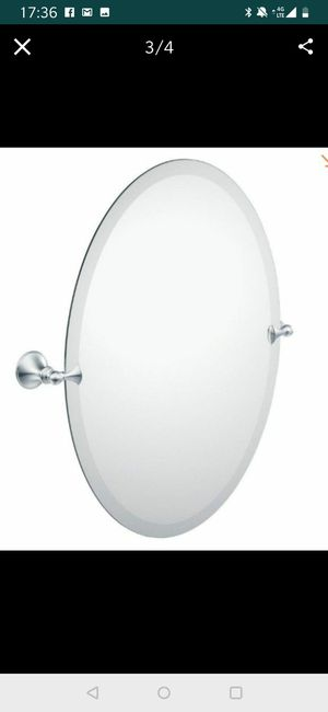 Beautiful Oval Mirror for Sale in Fontana, CA