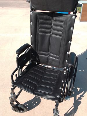 Invacare Tracer SX5 Deluxe Recliner Wheel Chair with Head Rest - Almost Brand New. Paid $900. for Sale in Port St. Lucie, FL