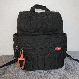 Skip Hop Forma Diaper Backpack - Black for Sale in North Las Vegas, NV