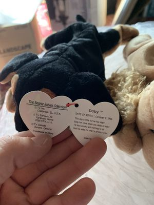 Ty beanie baby RETIRED Doby for Sale in FOWBELSBURG, MD