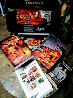 Insanity 60 day workout 10 disc set for Sale in Davenport, FL
