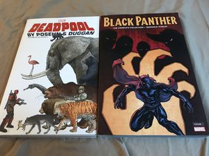 Deadpool The Complete Collection Part 1, and Black Panther The Complete Collection for Sale in Beaverton, OR