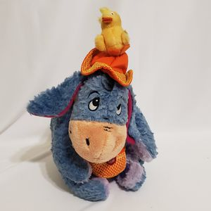 Spring Eeyore Mattel Disney Plush With Baby Chick On His Head Stuffed Animal for Sale in La Grange Park, IL