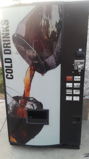 Soda Vending Machine for Sale in Pomona, CA