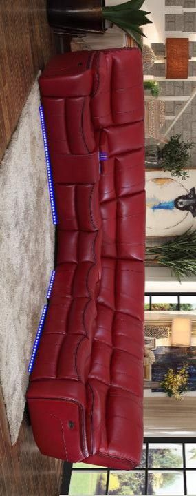 PECOS POWER SECTIONAL WITH LED RED for Sale in Houston, TX