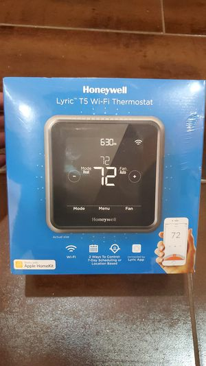 Honeywell Lyric T5 Smart WiFi Thermostat for Sale in Lemont, IL