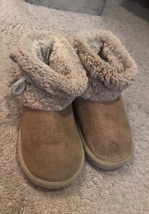Brown Toddler Fur Boots!! for Sale in Temple Hills, MD