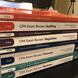 Brand New Becker CPA Books And Flashcards for Sale in Kirkland, WA