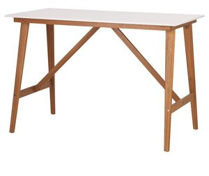 White solid wood bar table/dining table for Sale in Brooklyn, NY