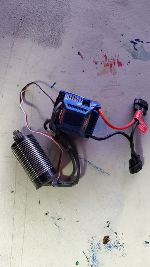 Traxxas motor and esc for Sale in Midway City, CA