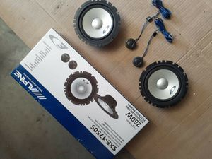 "New Alpine Components 6.5"" Speaker's for Sale in Fresno, CA"