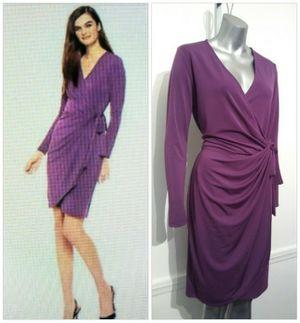 Purple Sleeved Wrap dress for Sale in Whittier, CA