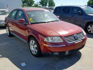 2003 Volkswagen passat for Sale in Dickinson, TX