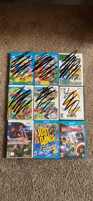 Wii/Wii U Games for Sale in Phoenix, AZ