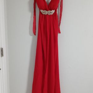 Cherry Red Prom Dress With Shawl for Sale in Atlanta, GA