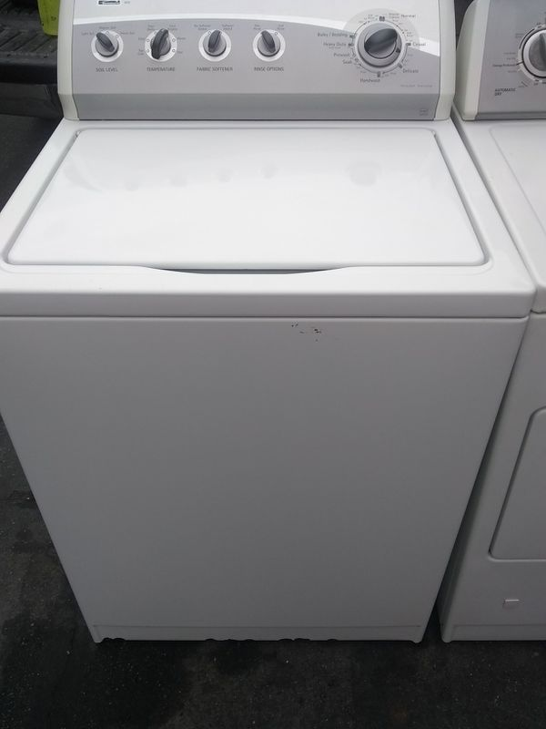 Washer Kenmore 90 days warranty deliver free