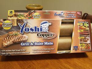 Yoshi Copper Grill & Bake Mats for Sale in Charlottesville, VA