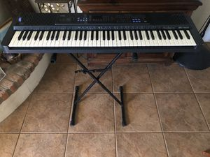 Casio keyboard with stand for Sale in Phoenix, AZ