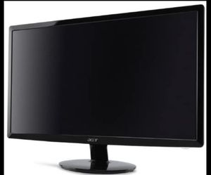 "Acer 23"" monitor supports HDMI, DVI, and VGA for Sale in Houston, TX"