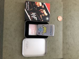 The Rock (wwe) zippo lighter for Sale in Raleigh, NC