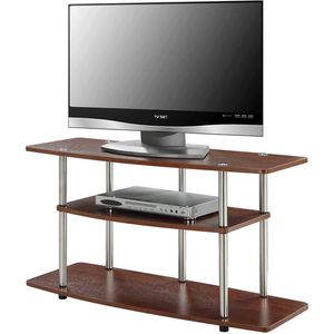 """TV STAND UP TO 42"""" CHERRY COLOR ONLY for Sale in Fort Worth, TX"""